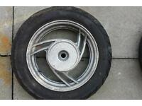 50cc scooter wheels and tyres