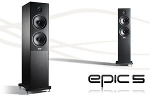 Epos Epic 5 Floor Standing Speaker - List $1499 Loudspeaker Of The Year 2012