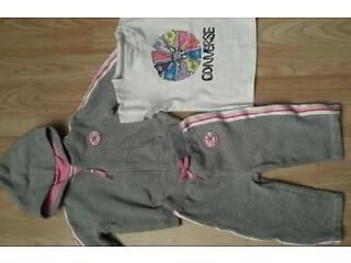 Baby converse tracksuit 6-9