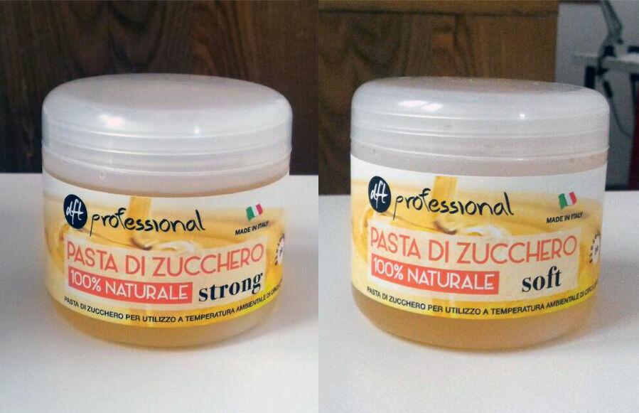Pasta di zucchero per depilazione da 500ml Cera per Epilazione Professional