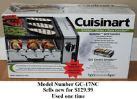 Cuisinart Griddler Grill Centro * Delivery Available *