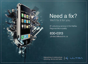 iPhone iPad Repair and Unlocking - Dartmouth, Halifax Sale $99