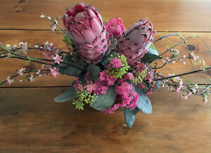 South African PROTEA Floral Centerpiece