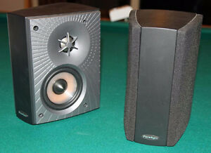 4 Paradigm Monitor Series Cinema ADP v3 Speakers - with mounts