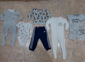 Boyys' clothes aged 12-24mc