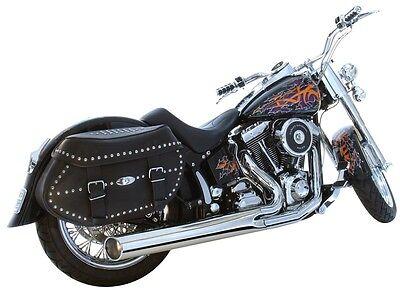 Harley Davidson Softail Heritage 2 into 1 Exhaust
