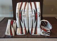 Goalie Equipment for Sale - Brian's G-Netik Pads & Gloves