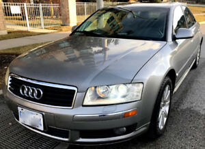 2005 Audi A8, navigation,heated seats, roof,PERFECT Mechanical