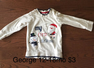 Baby boy clothing various sizes
