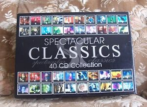 SPECTACULAR CLASSICS  40CD collection