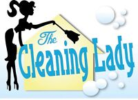 Let us show you why The Cleaning Lady is your best choice!
