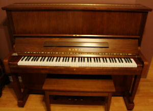 Kawai NS-20 Professional Upright Piano (1990)