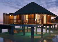 Overwater Bungalow - Last Minute Travel Offer!! Ends Soon