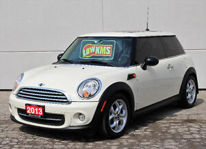 2013 MINI Mini Cooper Coupe **Only 21,600 km***Leather**sunoof**