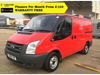 2008 Ford Transit 2.2 260S Low Roof Panel Van,1 Owner, FSH 70K (swb 280 300 MK7