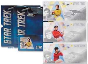 2018 Silver Star Trek: Kirk, Scotty & Uhura Foil Notes & Album