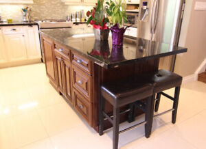FREE DESIGN!! maple solid wood Kitchen ISLAND on S-A-L-E!!!