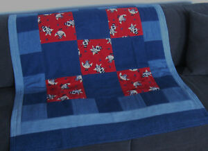Denim & Flannel Cow Quilt Prince George British Columbia image 1