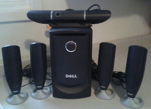 Dell Subwoofer & Speakers
