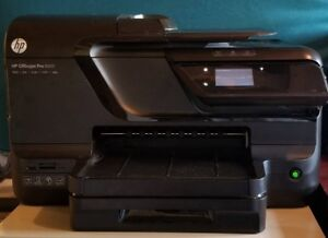 HP Officejet Pro 8600 Printer (Print, Fax, Scan, Copy)