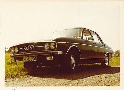 Original Foto / ..Audi 100 LS, ..aufgenommen 1971, .................( 5 )
