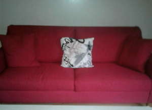Red Sofa  *MUST GO*
