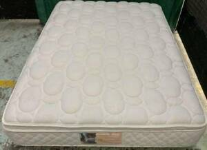 Excellent white Pillow Top double bed mattress only.Pick up or deliver