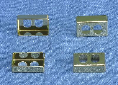 Dollhouse Miniature 1:12 Scale Set of Four Wall Outlet Covers