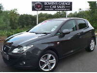 2010 (60) SEAT IBIZA 1.6TDI CR SPORT 5DR - 1 OWNER - FULL S/HISTORY - £30 TAX