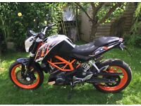 KTM 390 Duke Motorcycle 2013 A2 Licence legal.