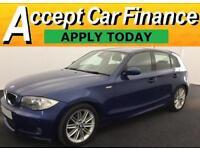 BMW 118 2.0 auto 2009MY i M Sport £25 PER WEEK