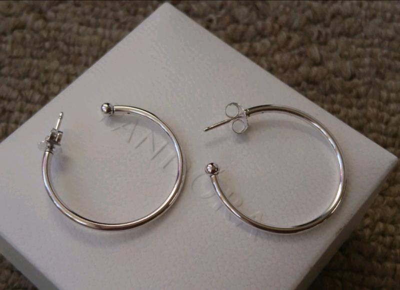 b2682a39f Genuine PANDORA Essence Hoops of Versatility Hoop Earrings | in ...