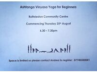 Ashtanga Yoga for Beginners in Aberdeen