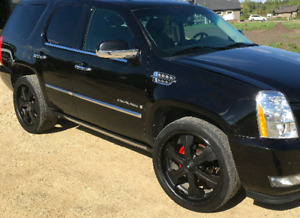 "BIG  24"" rims AND tires"