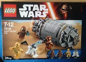 Lego Star Wars Droid Escape New