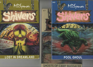 Shivers 3 book series by M.D. Spenser