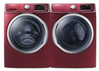 SAMSUNG WASHER & DRYER BOX PACK RED COLOR LOWEST EVER!!