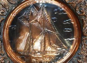 Copper Bluenose Schooner