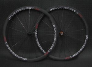 ★★ Carbon Wheels + 25/28mm Tire // BlackAce C4T 38mm 1080g! ★★