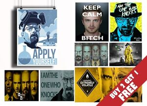 BREAKING-BAD-BEST-POSTERS-Home-Wall-Art-Deco-BUY2-GET1-FREE-A3-A4-SIZES