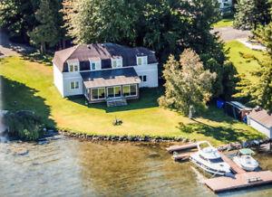 Luxueuse maison sur le Lac St-François à St-Anicet