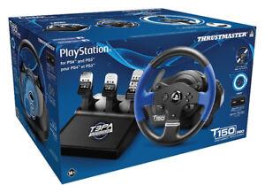 VOLANT DE COURSE PC-PS3-PS4 THRUSTMASTER T150 PRO