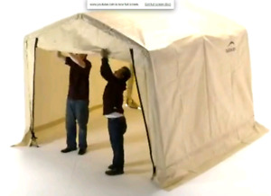 Storage shed tent