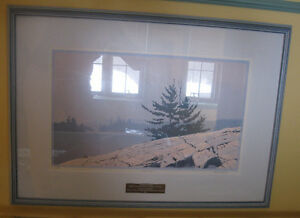 LITHOGRAPH PRINT - SIGNED