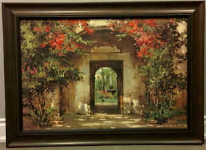 Flowered Doorway by Cyrus Afsary art print