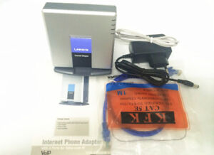 UNLOCKED LINKSYS PAP2T-NA SIP VOIP Phone Adapter VoIP