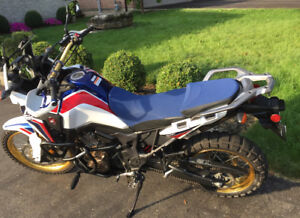 Africa Twin Seat, Risers, Highway Pegs