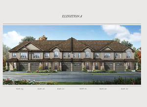 Executive Townhomes in Cambridge from Mid  $400,000