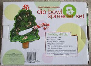 Boston Warehouse Dip Bowl Spreader Set, Holds 12 Ounces Stratford Kitchener Area image 2