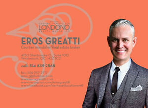 EROS GREATTI COURTIER IMMOBILIER / REAL - ESTATE BROKER